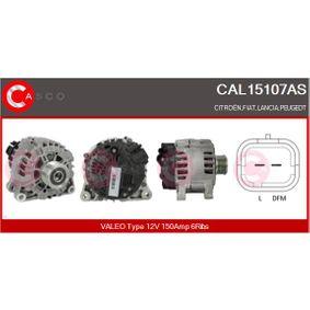 Generator Rippenanzahl: 6 mit OEM-Nummer 96 463 217 80
