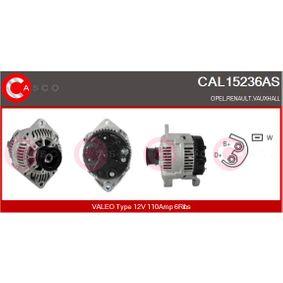 Lichtmaschine Art. Nr. CAL15236AS 120,00€