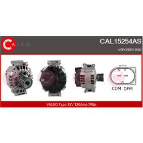 Lichtmaschine Rippenanzahl: 7 mit OEM-Nummer A 271 154 08 02 80
