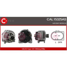 Lichtmaschine Rippenanzahl: 6 mit OEM-Nummer 021 903 026 L