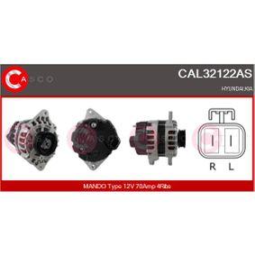 Lichtmaschine Rippenanzahl: 4 mit OEM-Nummer 3730002550