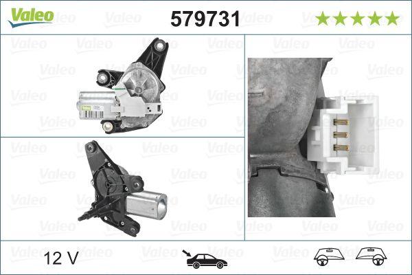 Windshield Wiper Motor 579731 VALEO 579731 original quality