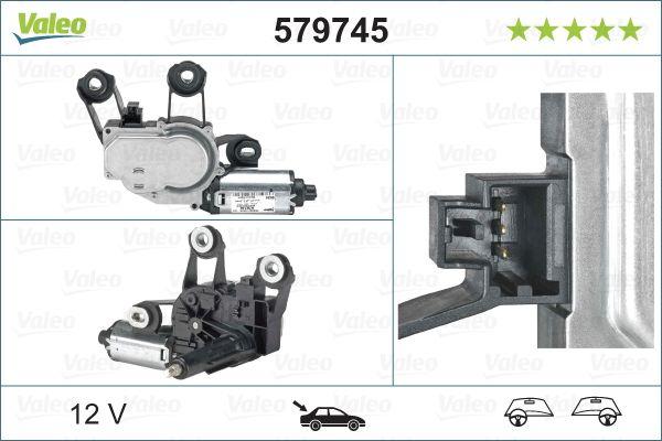 Windshield Wiper Motor 579745 VALEO 579745 original quality