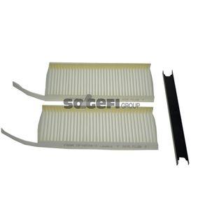 Filter, Innenraumluft Länge: 240mm, Breite: 108mm, Höhe: 20mm mit OEM-Nummer 2789100Q0F
