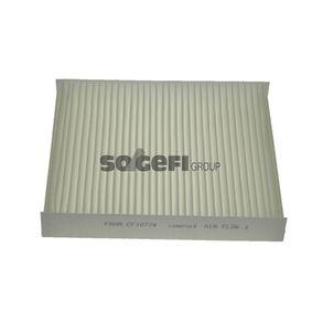 Filter, Innenraumluft Länge: 240mm, Breite: 204mm, Höhe: 35mm mit OEM-Nummer 13271190