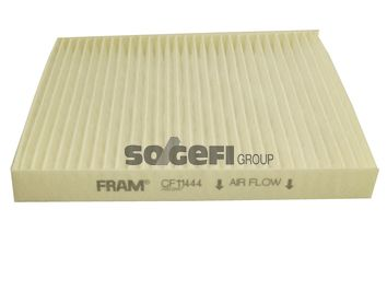 FRAM  CF11444 Filter, Innenraumluft Länge: 217mm, Breite: 194mm, Höhe: 23mm