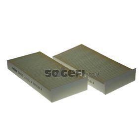 Filter, Innenraumluft Länge: 233mm, Breite: 115mm, Höhe: 32mm mit OEM-Nummer 64 11 6 823 725
