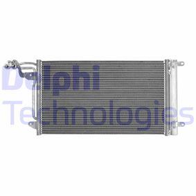 Kondensator, Klimaanlage mit OEM-Nummer 6R0 820 411 H