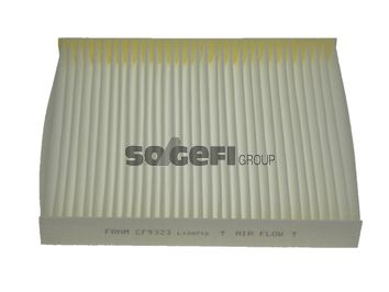 FRAM  CF9323 Filter, interior air Length: 250mm, Width: 216mm, Height: 32mm