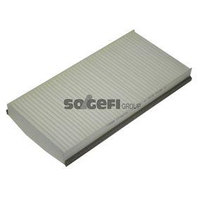 Filter, Innenraumluft Länge: 330mm, Breite: 160mm, Höhe: 30mm mit OEM-Nummer 93 172 299