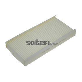 Filter, Innenraumluft Länge: 314mm, Breite: 151mm, Höhe: 39mm mit OEM-Nummer 6479-04