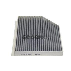 Filter, Innenraumluft Länge: 277mm, Breite: 237mm, Höhe: 35mm mit OEM-Nummer 8K0819439 A