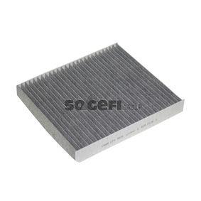 Filter, Innenraumluft Länge: 248mm, Breite: 215mm, Höhe: 32mm mit OEM-Nummer 463 830 001 8