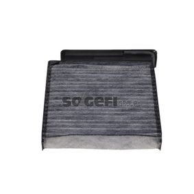 Filter, interior air Length: 207mm, Width: 185mm, Height: 42mm with OEM Number 77 11 426 872