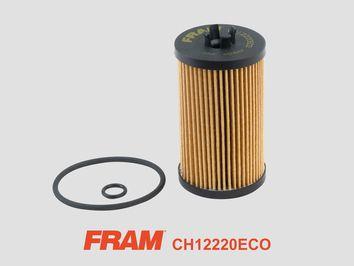 FRAM  CH12220ECO Ölfilter Ø: 6658mm, Innendurchmesser: 22mm, Höhe: 106mm