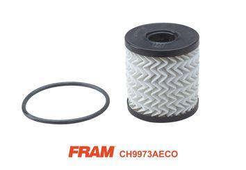 FRAM  CH9973AECO Ölfilter Ø: 65mm, Innendurchmesser: 24mm, Höhe: 69mm