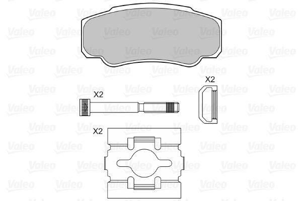 Bremsbelagsatz VALEO 598570 Bewertung