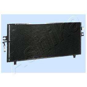 Kondensator, Klimaanlage Netzmaße: 690 x 300 x 16 mm, Kältemittel: R 134a mit OEM-Nummer 921102F005