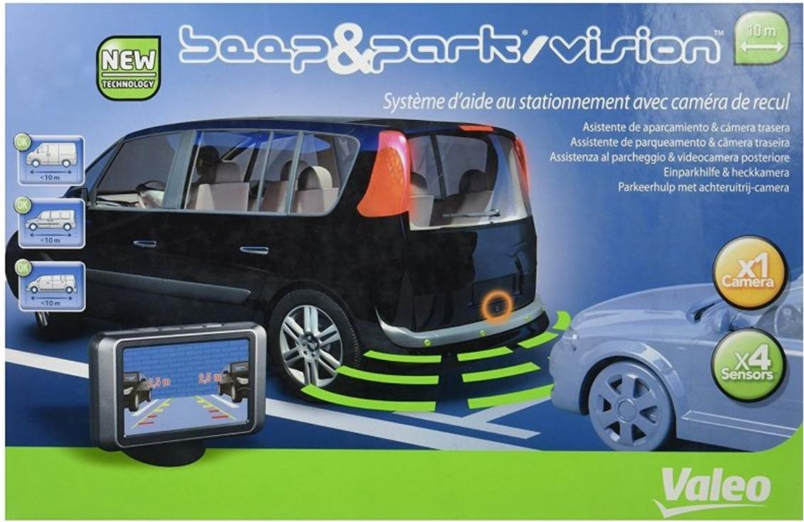 VALEO  632064 Câmara de visão traseira, assistência ao estacionamento Indicação de ecrã: TFT, Campo de medição de (DC): 0,1m