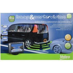 Câmara de visão traseira, assistência ao estacionamento Alcance até: 1,5m, Indicação de ecrã: TFT, Campo de medição de (DC): 0,1m 632064