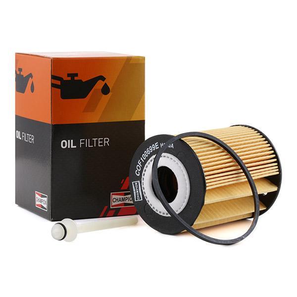 Filtro de aceite de motor CHAMPION COF100699E conocimiento experto