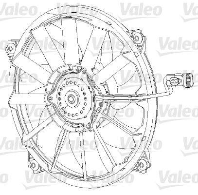 VALEO Tuuletin, moottorin jäähdytys