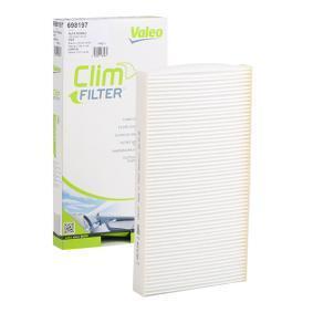 Filter, Innenraumluft Länge: 288mm, Breite: 159mm, Höhe: 30mm mit OEM-Nummer 606 536 41