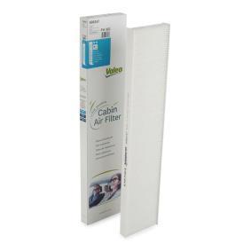 Filter, Innenraumluft Länge: 538mm, Breite: 111mm, Höhe: 25mm mit OEM-Nummer 1113627