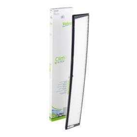 Filter, Innenraumluft Länge: 671mm, Breite: 125mm, Höhe: 25mm mit OEM-Nummer 64319216590