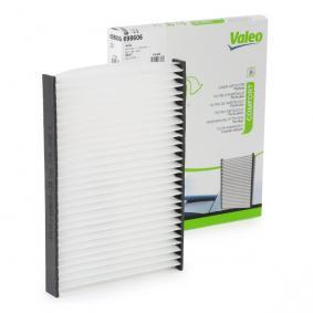 VALEO Filter, Innenraumluft 698606 für AUDI A4 (8E2, B6) 1.9 TDI ab Baujahr 11.2000, 130 PS