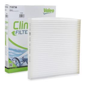 Filter, Innenraumluft Länge: 300mm, Breite: 205mm, Höhe: 31mm mit OEM-Nummer 4B0819439C