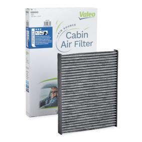 Filter, Innenraumluft Länge: 232mm, Breite: 182mm, Höhe: 21mm mit OEM-Nummer 4672 3435
