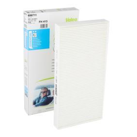 Filter, Innenraumluft Länge: 328mm, Breite: 160mm, Höhe: 30mm mit OEM-Nummer 46844822
