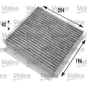 Filter, Innenraumluft Art. Nr. 698774 120,00 €