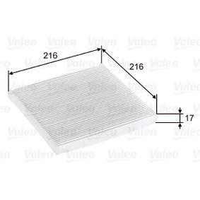 Filter, Innenraumluft Art. Nr. 698796 120,00€
