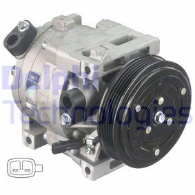 Compressor, air conditioning CS20402 PUNTO (188) 1.2 16V 80 MY 2002