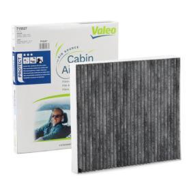 Filter, Innenraumluft Länge: 217mm, Breite: 195mm, Höhe: 25mm mit OEM-Nummer 5058 381AA