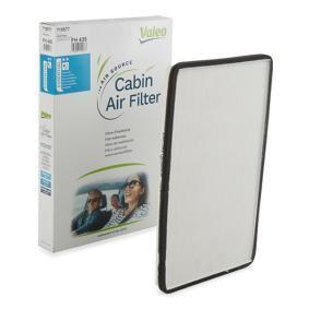 Filter, Innenraumluft Länge: 370mm, Breite: 211mm, Höhe: 28mm mit OEM-Nummer 001 835 30 47