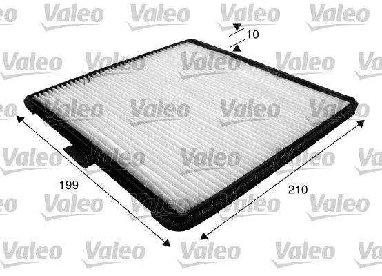 VALEO CLIMFILTER COMFORT 715588 Filter, Innenraumluft Länge: 210mm, Breite: 199mm, Höhe: 10mm