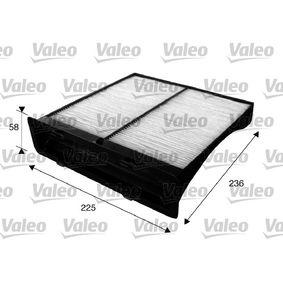 Filter, Innenraumluft Art. Nr. 715625 120,00€