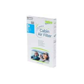 Filter, Innenraumluft Länge: 252mm, Breite: 210mm, Höhe: 20mm mit OEM-Nummer 60814643
