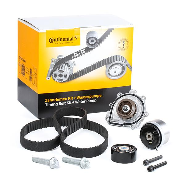 Timing belt and water pump kit CONTITECH CT1077 expert knowledge