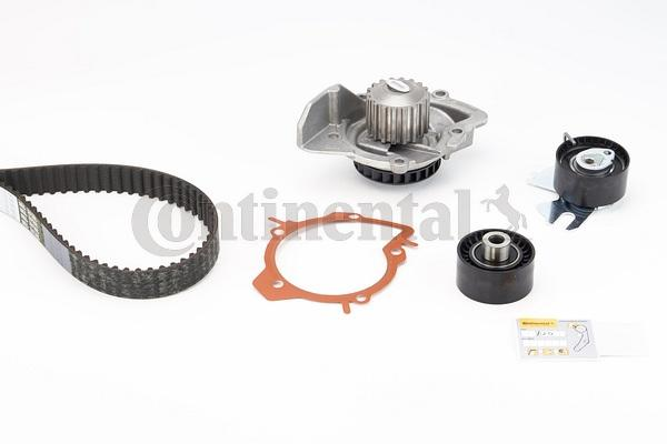 Water Pump + Timing Belt Kit CONTITECH CT1140 rating