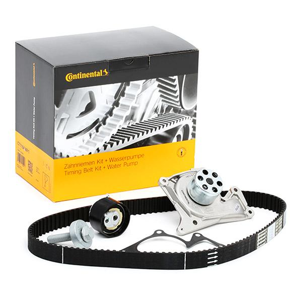 Timing belt kit and water pump CT1184WP1 CONTITECH CT1184 original quality
