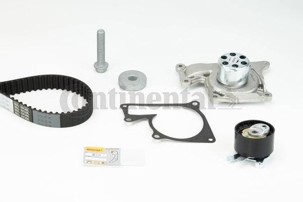 Timing belt and water pump kit CONTITECH CT1184WP1 expert knowledge