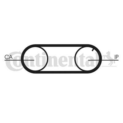 Timing belt kit and water pump CT704WP2PRO CONTITECH CT704K2PRO original quality