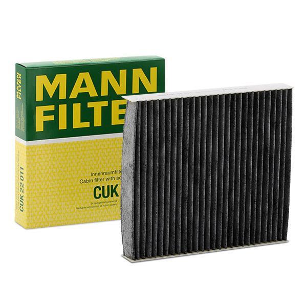 Innenraumfilter CUK 22 011 MANN-FILTER CUK 22 011 in Original Qualität