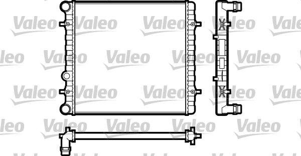 VALEO  731606 Radiador, refrigeración del motor
