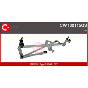 Wiper Linkage with OEM Number 5K1 955 601