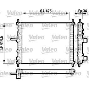 Radiatore raffreddamento motore FIAT Multipla (186) 1.6
